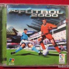 Videojuegos y Consolas: JUEGO PARA PC FUTBOL 2000 DINAMIC. Lote 134376890