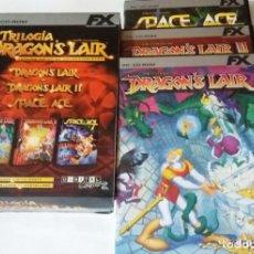 Videojuegos y Consolas: TRILOGIA DE DRAGONS LAIR,3 JUEGOS, PC. Lote 134518170