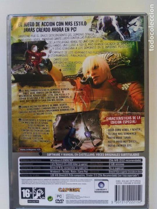 Videojuegos y Consolas: Juego PC - Devil May Cry 3 Special Edition Dante´s Awakening - Foto 3 - 134749654