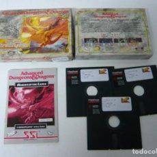 Videojuegos y Consolas: HEROES OF THE LANCE / IBM PC / RETRO VINTAGE / DISQUETES - DISKETTES / CLÁSICO. Lote 135085766