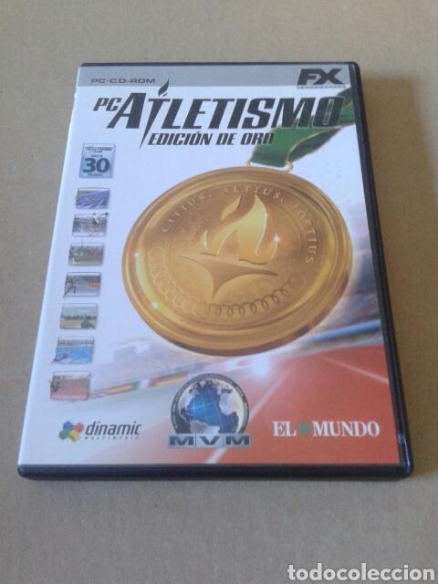 PC ATLETISMO - EDICIÓN DE ORO. JUEGO PARA PC EN CD ROM. DINAMIC MULTIMEDIA, 2003. (Juguetes - Videojuegos y Consolas - PC)