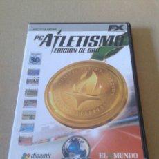 Videojuegos y Consolas: PC ATLETISMO - EDICIÓN DE ORO. JUEGO PARA PC EN CD ROM. DINAMIC MULTIMEDIA, 2003.. Lote 135117155