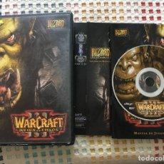 Videojuegos y Consolas - WARCRAFT III REIGN OF CHAOS 3 portada completa pc cd rom kreaten - 135186034
