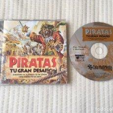Videojuegos y Consolas: PIRATAS TU GRAN DESAFIO 1996 PC CD ROM WINDOWS 95 Y MACINTOSH KREATEN . Lote 135187134