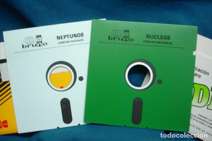 Videojuegos y Consolas: ANTIGUOS DISCOS DE 5 1/4 DE EDITORIAL BRUÑO - 2 UNIDADES - Foto 2 - 135418210