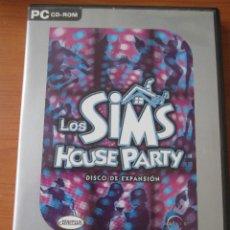 Videojuegos y Consolas: LOS SIMS HOUSE PARTY DISCO DE EXPANSION. Lote 135476994