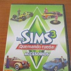 Videojuegos y Consolas: LOS SIMS 3 ¡QUEMANDO RUEDA! ACCESORIOS. Lote 135524378