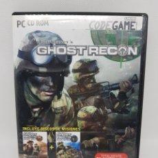 Videojuegos y Consolas: GHOST RECON PARA PC - CAR114. Lote 135848834