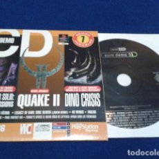Videojuegos y Consolas: CD DEMO PLAYSTATION REVISTA MAGAZINE 36 ( EURO DEMO 51 ) 1999 SONY DEMOS JUGABLES VER FOTOS . Lote 135850306