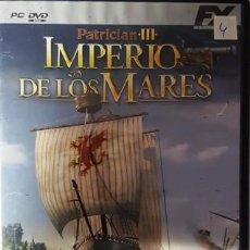 Videogiochi e Consoli: PC - DVD - PATRICIAN III - IMPERIO DER LOS MARES -. Lote 136090486
