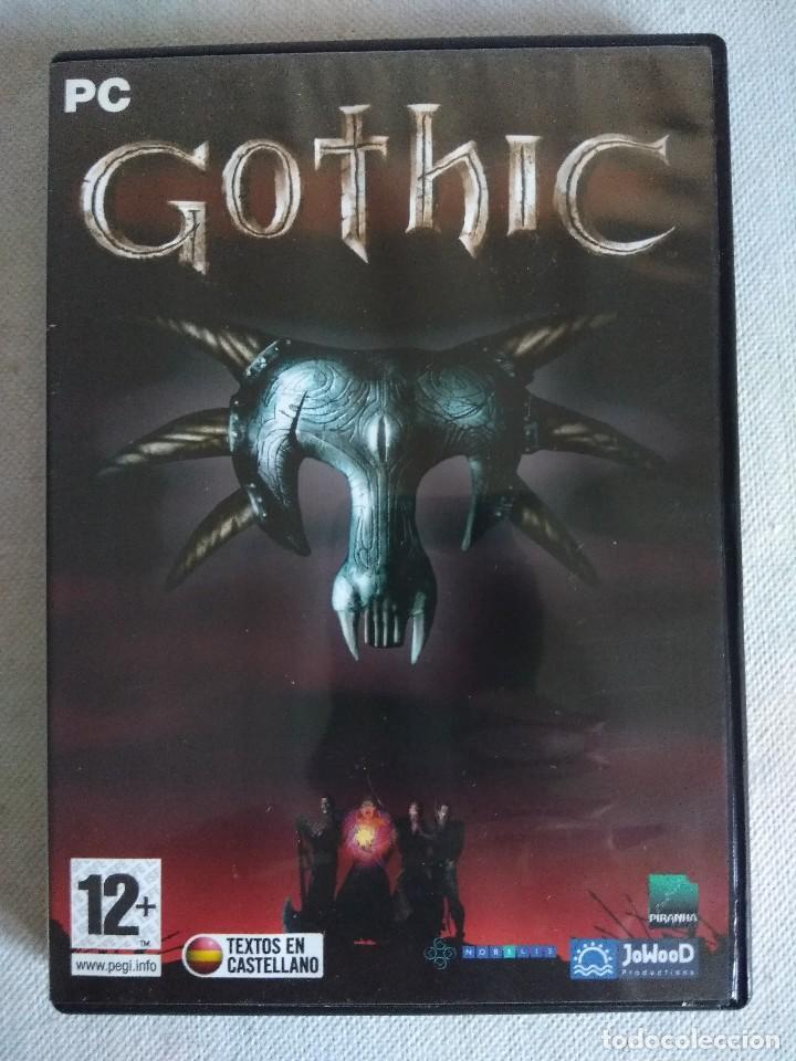JUEGO PC/GOTHIC. (Juguetes - Videojuegos y Consolas - PC)