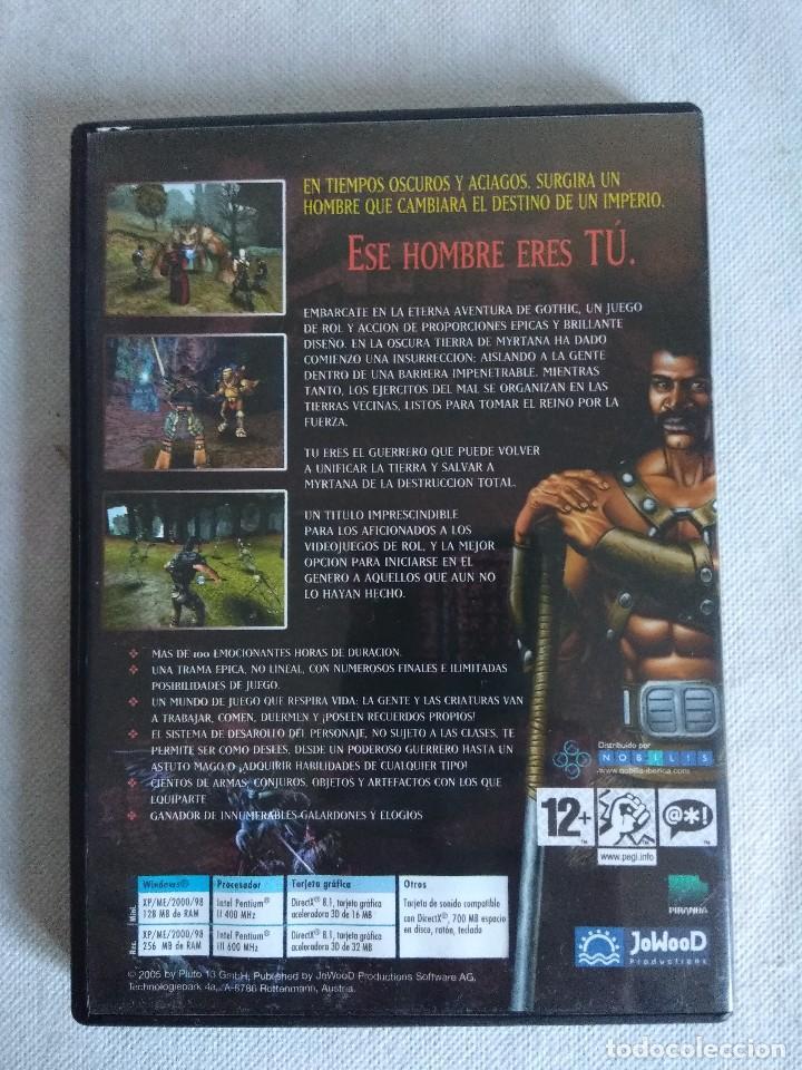 Videojuegos y Consolas: JUEGO PC/GOTHIC. - Foto 3 - 136516978