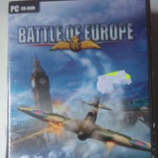 Videojuegos y Consolas: BATTLE OF EUROPE , PC ( BLACK BEAN ). Lote 137459590