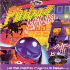 Videojuegos y Consolas: PINBALL MANIA - CD-ROM [SOFTKEY, 1997]. Lote 137554870