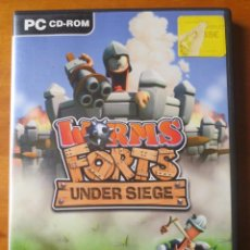 Videojuegos y Consolas: WORMS FORTS UNDER SIEGE (PC CD-ROM). Lote 137618906