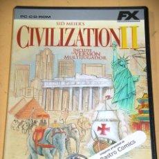 Jeux Vidéo et Consoles: CIVILIZATION II, SID MEIERS, CD ROM, ERCOM. Lote 138035410