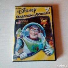 Videojuegos y Consolas: JUEGO DISNEY, TOY STORY 2, DUELO EN LA JUGUETERIA, PC- CD ROM, AÑO 2000, WINDOWS 95/ 98 Y MACINTOSH. Lote 138049532
