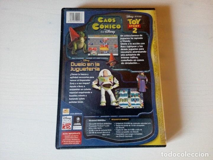 Videojuegos y Consolas: Juego Disney, Toy Story 2, Duelo en la jugueteria, PC- CD Rom, año 2000, Windows 95/ 98 y Macintosh - Foto 3 - 138049532
