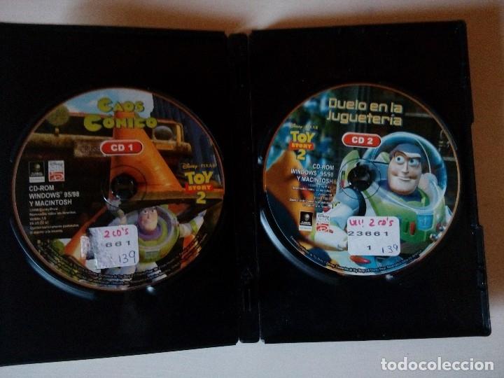 Videojuegos y Consolas: Juego Disney, Toy Story 2, Duelo en la jugueteria, PC- CD Rom, año 2000, Windows 95/ 98 y Macintosh - Foto 2 - 138049532