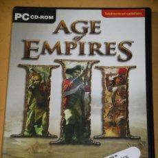 Videojuegos y Consolas: AGE OF EMPIRES III, CON DOS CD ROM, ERCOM. Lote 138054866