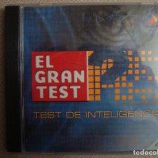 Videojogos e Consolas: PC CD EL GRAN TEST DE INTELIGENCIA PRODUCTO PROGRAMA ANTENA 3 OFICIAL 120G. Lote 138892962