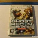 Videojuegos y Consolas: LOTE JUEGO GHOST RECON ADVANCED WARFIGHTER UBISOFT 2006 PC..SALIDA 1 EURO. Lote 139410410