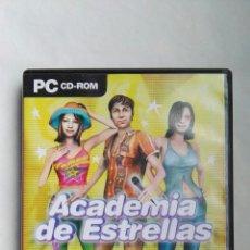 Videojuegos y Consolas: ACADEMIA DE ESTRELLAS PC. Lote 140188801