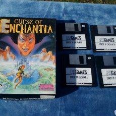 Videojuegos y Consolas: CURSE OF ENCHANTIA - JUEGO PC 3 1/2. Lote 140220914