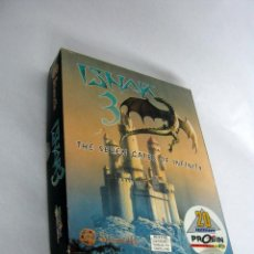 Videojuegos y Consolas: JUEGO PC DISCO 3,5 HD . ISHAR 3 . CASTELLANO . 20 ANIVERSARIO PROEIN EN CAJA DE CARTÓN. Lote 140727890