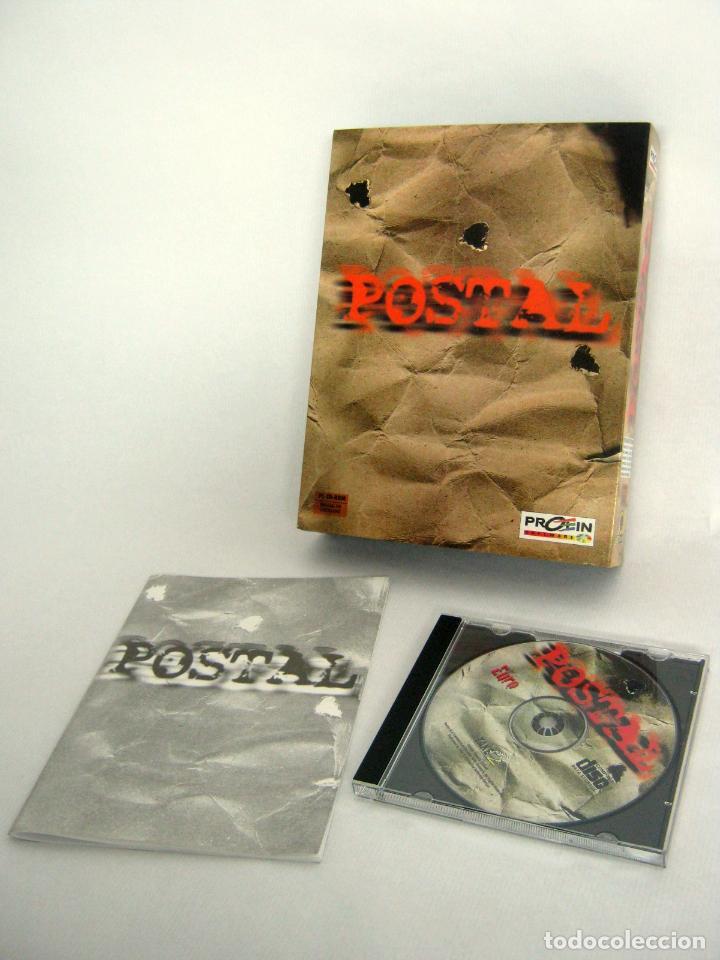 MUY RARO - POSTAL 1997 CASTELLANO - CAJA GRANDE DE CARTÓN PC CD ROM - RIPCORD GAMES (Juguetes - Videojuegos y Consolas - PC)