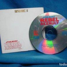 Videojuegos y Consolas: - STAR-WARS - REBEL ASSAULT - LUCAS ARTS 1993 - CDROM. Lote 140798538