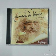 Videojuegos y Consolas: LEONARDO DA VINCI Y SU OBRA. CD-ROM. MULTIMEDIA EDICIONES. TDKV3. Lote 140919254