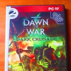Videojuegos y Consolas: WARHAMMER 40.000 DAWN OF WAR DARK CRUSADE (PC). Lote 141308290