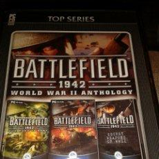 Videojuegos y Consolas: BATTLEFIELD 1942 WORLD WAR II ANTHOLOGY PC. Lote 141499804