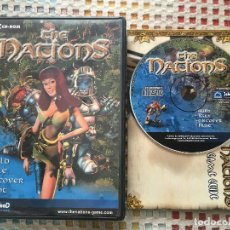 Videojuegos y Consolas - THE NATIONS BUILD RULE DISCOVER FIGHT PC CD ROM 2001 KREATEN JOWOOD - 141508990