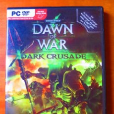 Videojuegos y Consolas: WARHAMMER 40.000 DAWN OF WAR DARK CRUSADE (PC). Lote 141664814