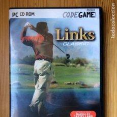Videojuegos y Consolas: LINKS CLASSIC. CODE GAME PC CD ROM. Lote 142040186