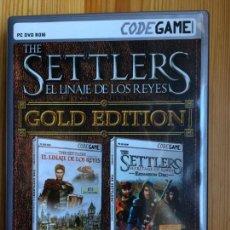 Videojuegos y Consolas: THE SETTLERS EL LINAJE DE LOS REYES PC CD ROM CODEGAME. Lote 142041334