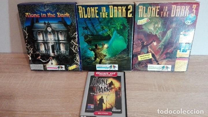 Pack Pc Alone In The Dark 1 2 Diskettes 3 5 Y Sold Through