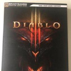 Videojuegos y Consolas: LIBRO GUIA DIABLO III EN CASTELLANO. Lote 142307194