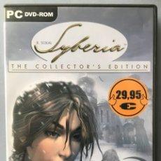 Videojuegos y Consolas: JUEGO PARA PC, SYBERIA, THE COLLECTOR'S EDITION. Lote 142698546