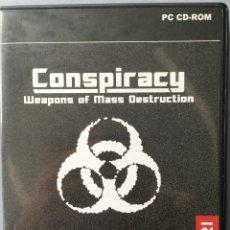 Videojuegos y Consolas: JUEGO PARA PC, CONSPIRACY WEAPONS OF MASS DESTRUCTION. MAYORES 16 AÑOS. Lote 142702778