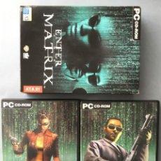 Videojuegos y Consolas: JUEGO PARA PC, ENTER MATRIX DE ATARI. Lote 142702970