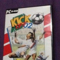 Videojuegos y Consolas: KICK OFF 2 JUEGO PC CD-ROM COMPLTO EDICION ESPAÑOLA. Lote 143104850