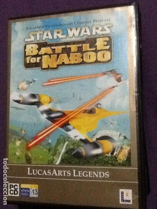 JUEGO PC STAR WARS.BATTLE FOR NABOO.ESPAÑOL (Juguetes - Videojuegos y Consolas - PC)