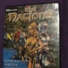 Videojuegos y Consolas: JUEGO THE NATIONS PC CD ROM. Lote 143105606