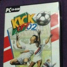 Videojuegos y Consolas: KICK OFF 2 JUEGO PC CD-ROM COMPLTO EDICION ESPAÑOLA. Lote 143106298