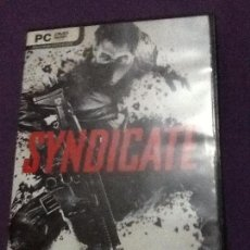 Videojuegos y Consolas: SYNDICATE PC CD ROM. Lote 143108786