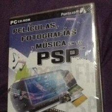 Videojuegos y Consolas: PELÍCULAS, FOTOGRAFÍAS Y MÚSICA EN TU PSP. PC CD-ROM. GOST PUBLISHING. NUEVO CON PRECINTO!. Lote 143110342
