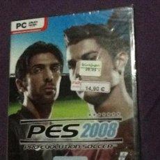 Videojuegos y Consolas: PES 2008 PC NUEVO PRECINTADO. Lote 143110494